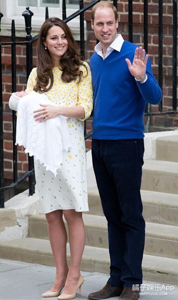 凯特嫁入皇室这5年 生了两个孩子 穿红一堆高街品牌