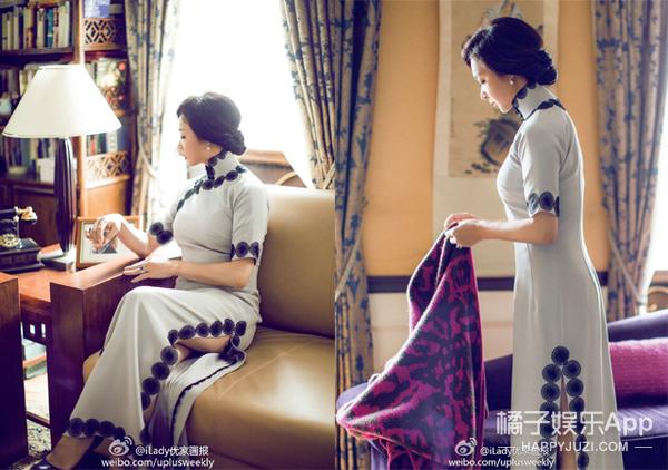 金星人生的每个重要时刻,都有一件旗袍