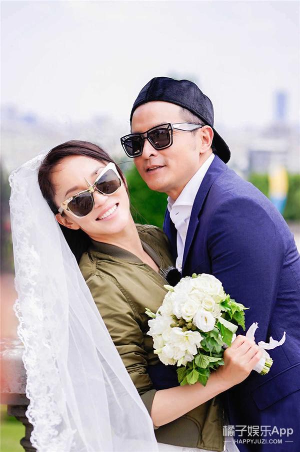 戚薇李承铉结婚生娃不算完,跑到法国再拍婚纱照