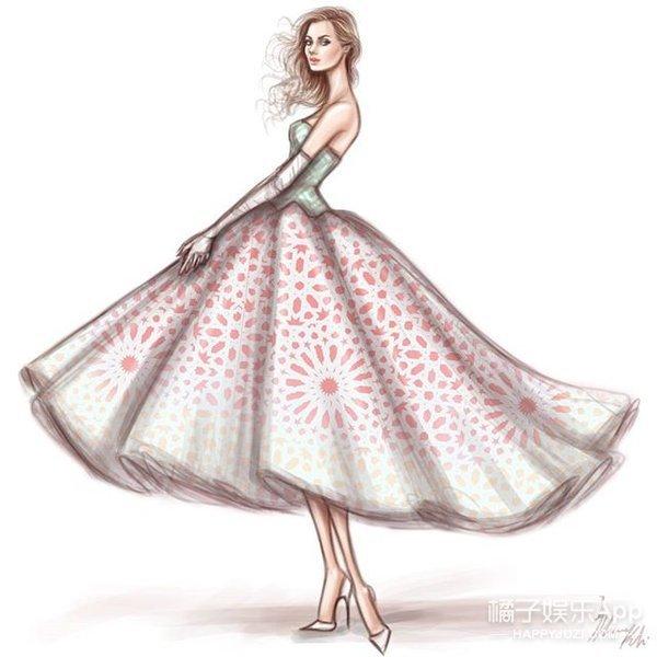 天为衣 地为裙 他笔下大自然就是做衣服最棒的材料