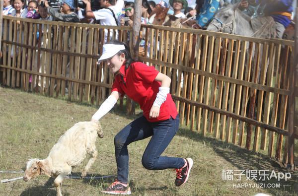 林青霞射箭 赵丽颖抓羊 偶像来了到底是个什么鬼?