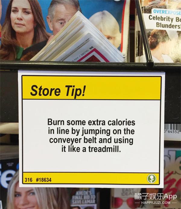 超市里的神标语你见过吗 原来去超市购物有这么多隐藏技能