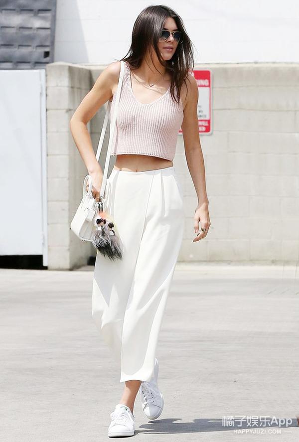 没有一条白裤子 就别说你这个夏天美过