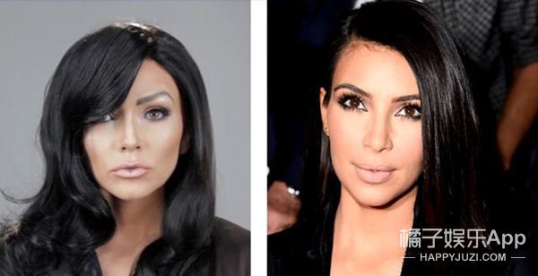 """超强化妆师""""cos""""卡戴珊家族,这也太像了吧!"""