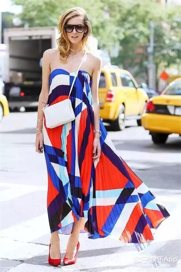 显个高、藏粗腿、女神范 只要一条长裙全搞定