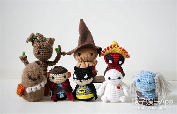 这些Q死人的mini玩偶都是一个性别不明的死宅亲手做的!