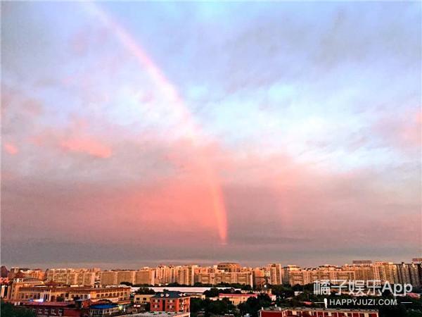 身为一道彩虹,雨过了就该闪亮整片天空和朋友圈!