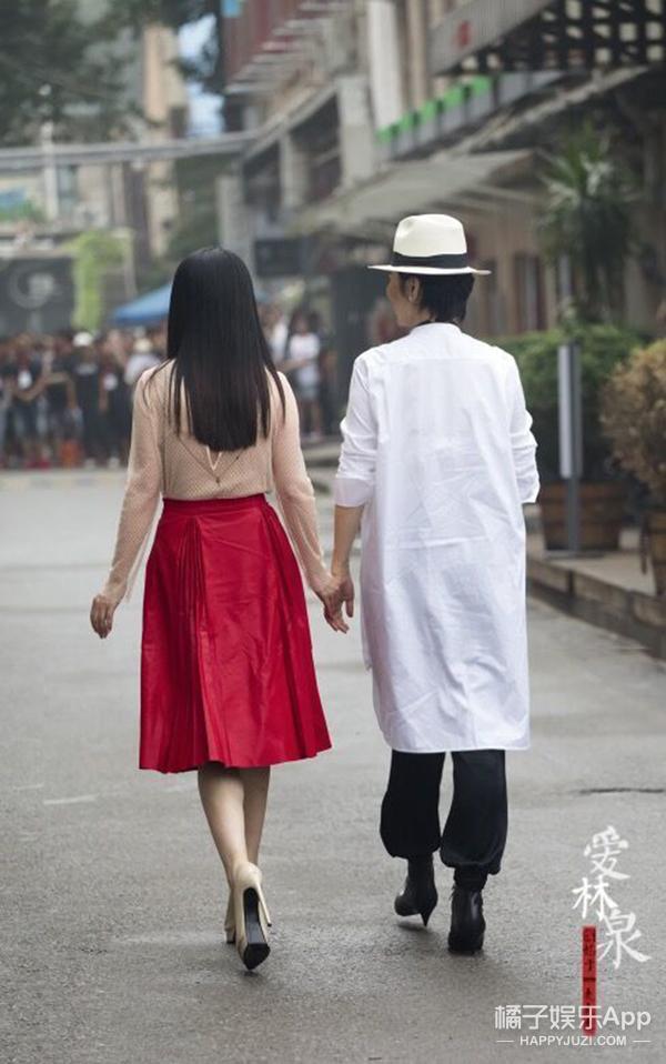 林青霞穿白衬衫帅哭!被女神掰弯啦!!
