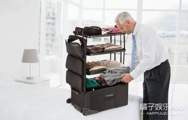 简直就是行走的大衣柜!出门再也不怕收拾行李了