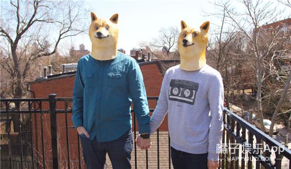 魔性神烦狗Doge出了头套,眼神帅到没朋友!