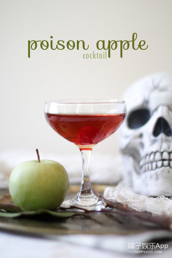 The Poison Apple, with Cranberry Juice