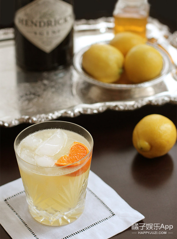 The Bee's Knees with Lemon Juice