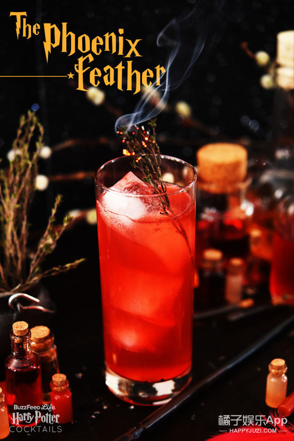 The Phoenix Feather with Grapefruit Juice