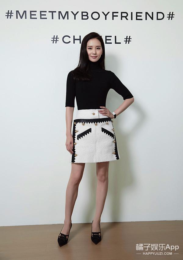 今天她最美 | 刘诗诗 黑白配就要简洁帅气!