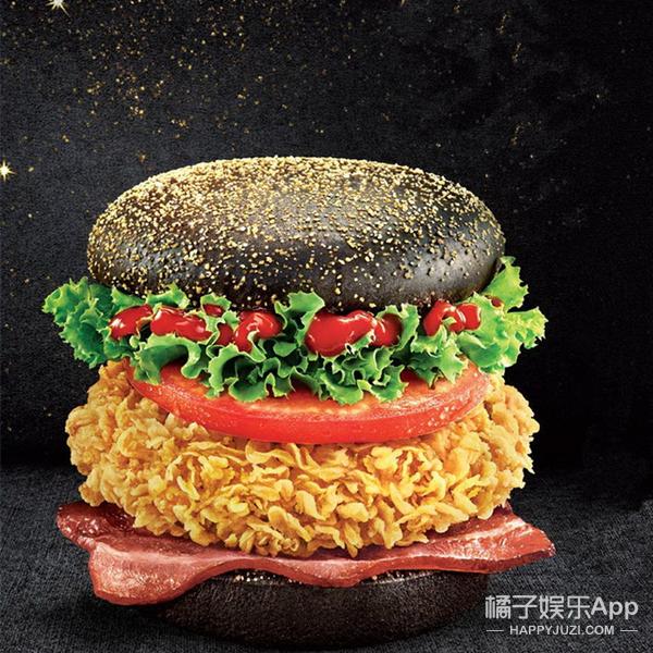 肯德基新推了两款汉堡,实物就是粉刺和黑头啊