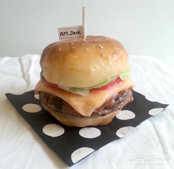 Burger Candle ($19.81)