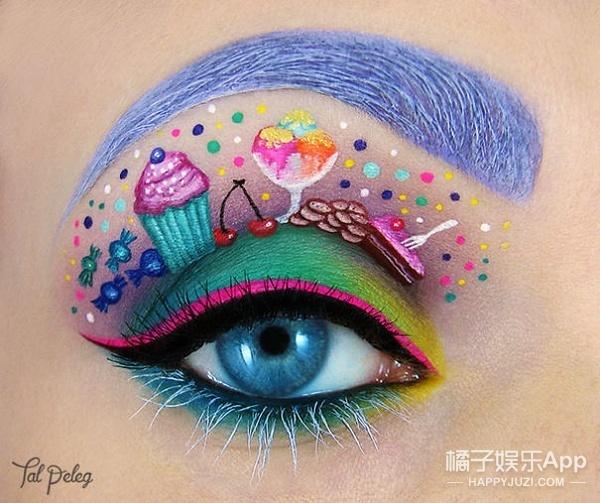 这是我见过最奇怪也最可爱的眼影了!