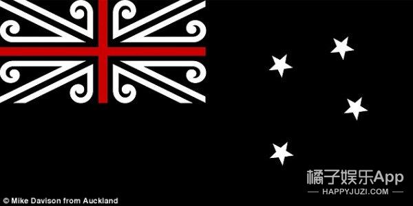 在新西兰国旗众多吊炸天的设计中 终于筛选出了40件候选