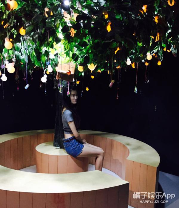 北京开了个梵高星空乐园,橘子君去体验了一下3D错觉!