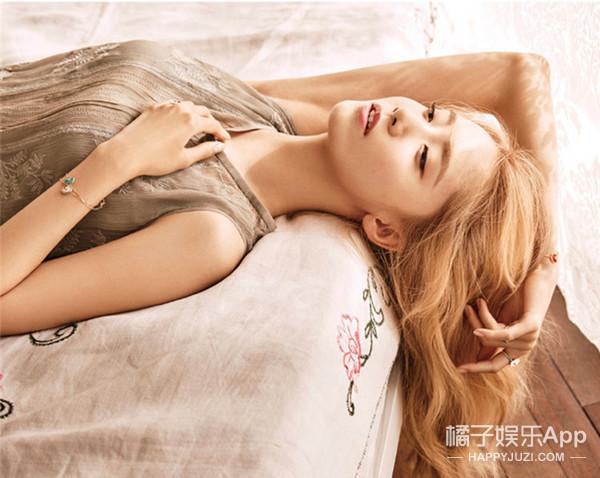 看脸 | 林允儿:邻家小妹秒变金发女郎  清纯性感她全占了!