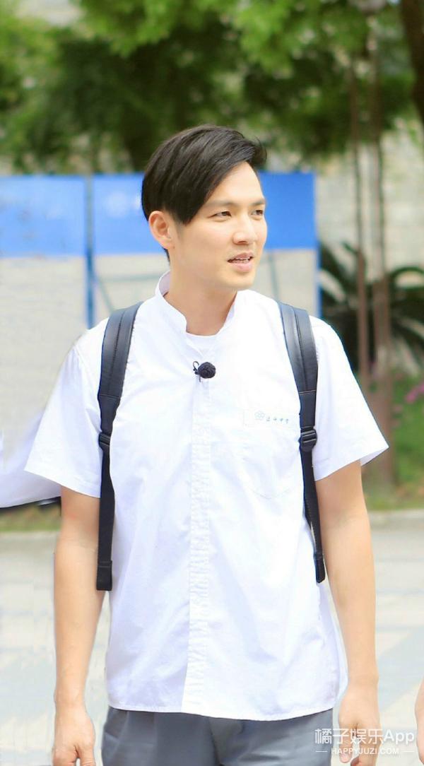 我的同学钟汉良:不光长得帅 做题还会发光呢!