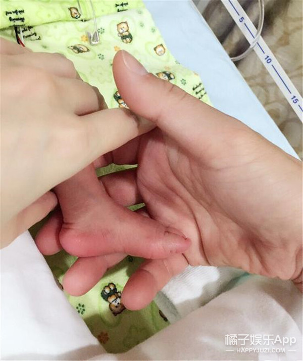 历时142天徐若瑄终于生啦! 2公斤男宝宝取名Dalton Lee