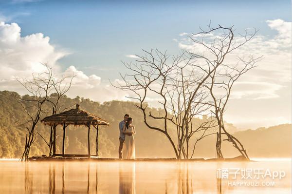 也许这就是你最想拍的婚纱照,当爱情遇上最美的风光