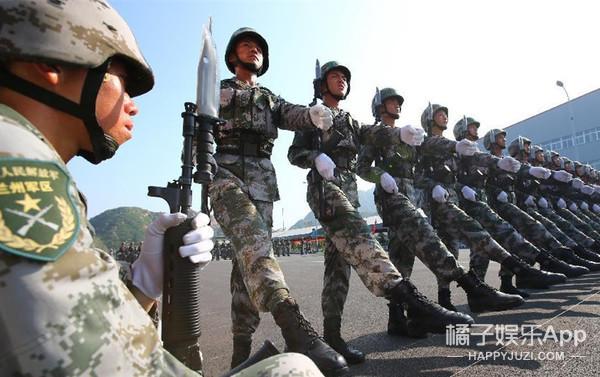 阅兵演练来了 | 我在北京看阅兵,到处都是颜值爆表的兵哥和兵姐!