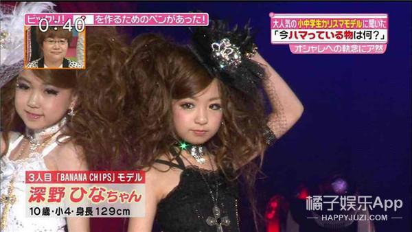 给跪了,这是日本一个6岁小女孩的化妆后的样子!