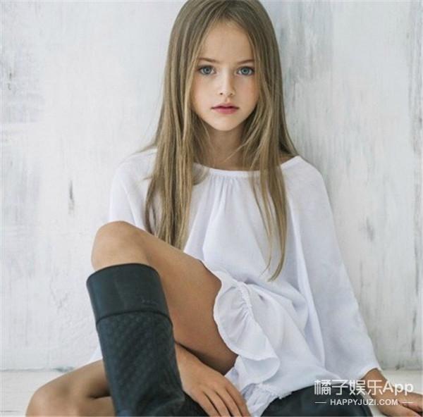 美呆又惊呆!别人家的九岁是T台、画报和化妆间