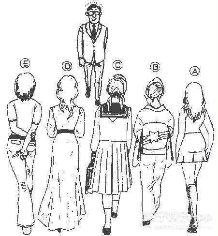 一秒看透你!看背影选美女测你的真实性格