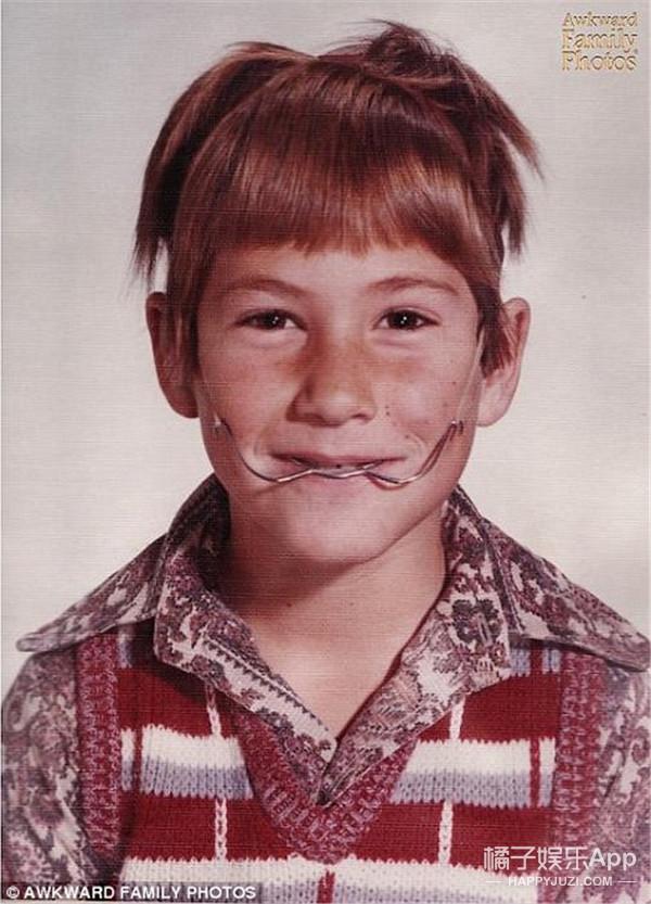 看过早期美国孩子的童年照,才知他们的审美也跑偏过