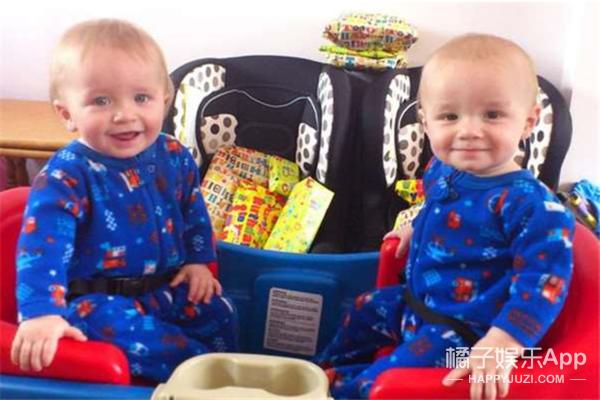 你绝对想不到这对双胞胎兄弟长大后差异有多大!