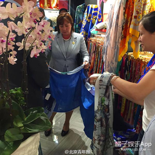 阅兵结束 | 政要夫人们也爱购物,秀水市场逛街扫货