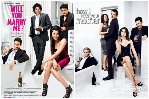 相比抄来抄去的国产电影海报,印度电影海报更是神一样的存在!