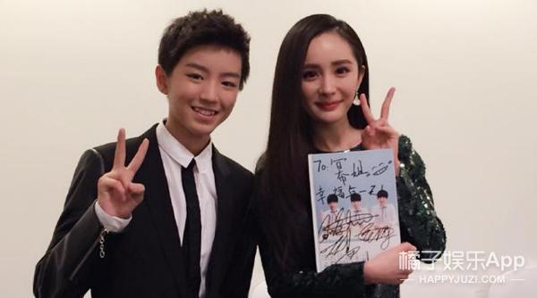 王俊凯 & 杨幂:他俩简直就是饭随爱豆的最好典范啊!