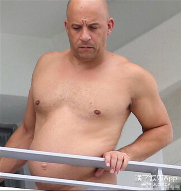 范迪塞尔:敢说我肥?分分钟给你们瘦回来!