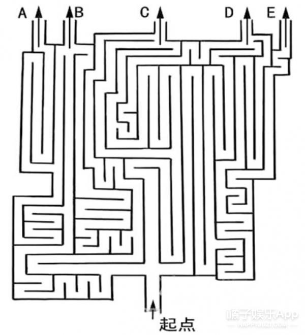 测一测 | 迷宫的终点推测你的未来方向