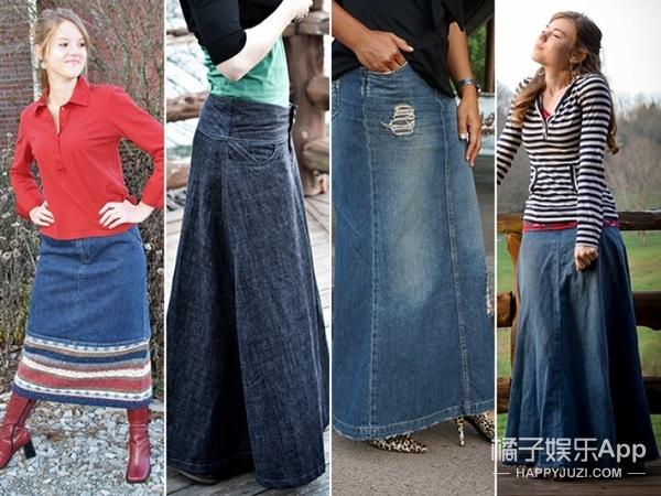 一衣多穿 | 不止三种!高腰牛仔长裙的百搭讲三天都讲不完!