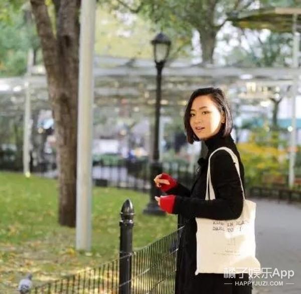 纽约公园活捉一枚女文青,原来她是周笔畅!