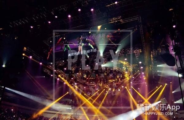 蔡依林南京演唱会跳热舞 但身边的男伴舞亮了