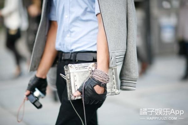 新技能Get | 不搭配首饰的机车手套不是好潮流!