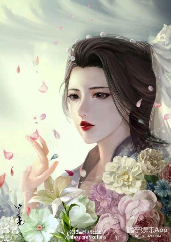 杨紫手绘图片大全
