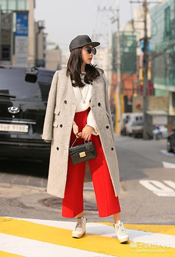 今天穿啥 | 穿上最鲜艳的阔腿裤,坚决不做路人!