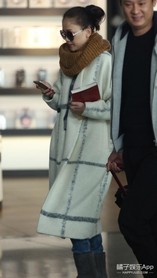 陈乔恩超级怕冷!室内裹成北极熊