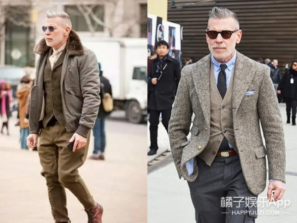 男装周, 来和这些衣品爆棚的帅大叔们学学怎么打扮你的男票!
