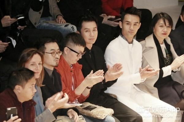 李晨&王凯米兰看秀,一对颜值爆表的黑白CP诞生了!