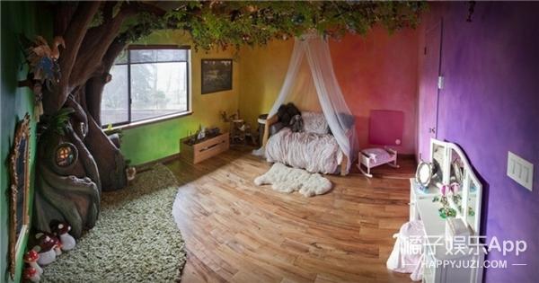 """为女儿一句话猛干18个月,这老爹在闺女卧室""""种""""出一棵仙境之树!"""