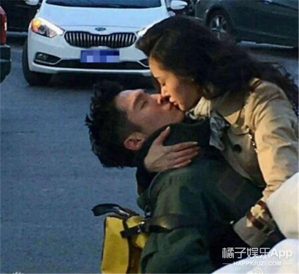 张天爱街头强吻盛一伦,这是在拍《太子妃升职记》第三版结局吗?
