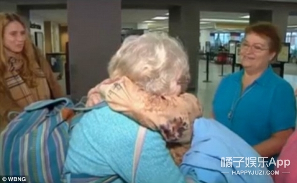 终于等到你:与女儿分别82年终相聚